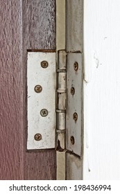 old hinges door