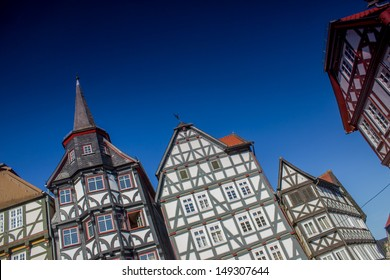 old historic german houses