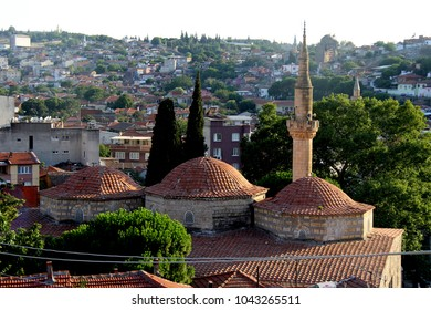 old historic houses.old rum houses, streets, streets bergama