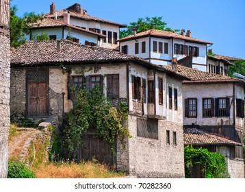 Old historical ottoman houses in Safranbolu, Turkey