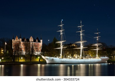 Old historical Vessel in Stockholm