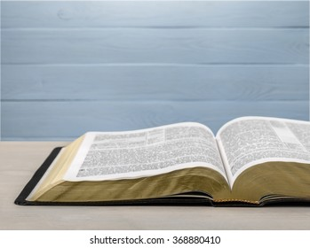 Old holy bible.
