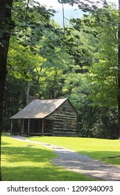Old home in the Smoky Mountains