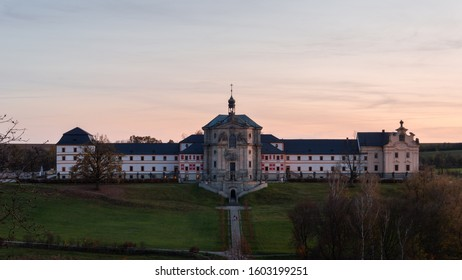 Old hospital Kuks in the town of Kuks - Shutterstock ID 1603199251