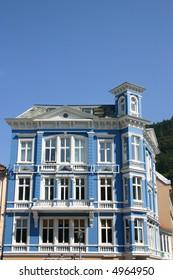 old house in bergen (norway)