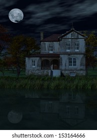 Old House by Night