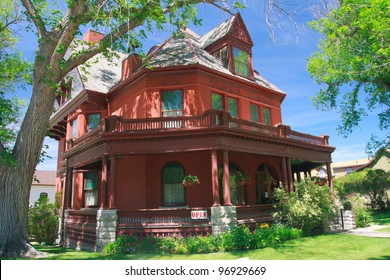 Old house in Helena, Montana