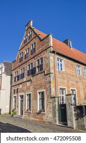 Old house in the historical center of Steinfurt, Germany