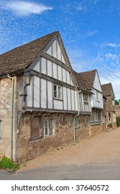An old house at historical town Lacock England