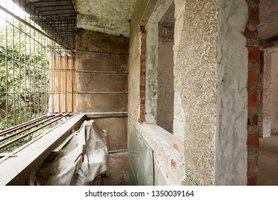 Old house interior, ready to be renovated