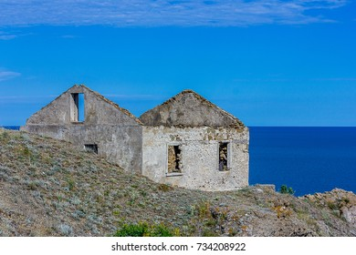 The old house of the lighthouse Keeper