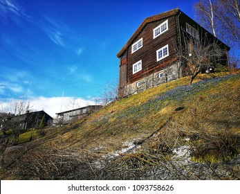 Old House in Lillehammer, Norway