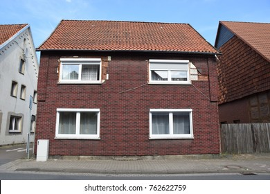 Old house in Lindhorst/Germany in need of renovation