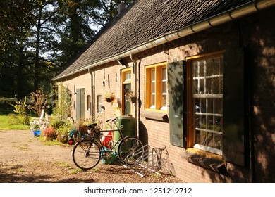Old house in North Brabant in Holland
