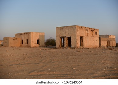 Old house in the north of Qatar