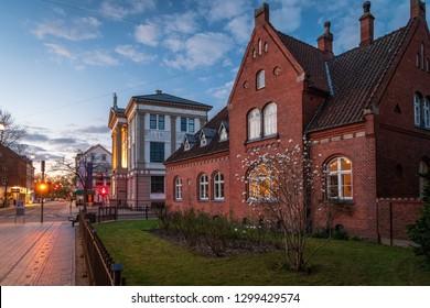 Old house in Odense, Denmark