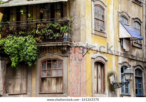 Old house in Porto, Portugal