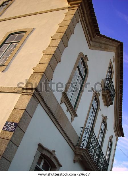 Old house taken north of Portugal near Serra Da Estrela.