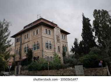Old house Templers colony, Jerusalem