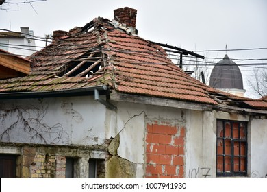 The Old House That Is Falling Apart