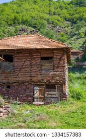 Old house in Topli Do village, Serbia