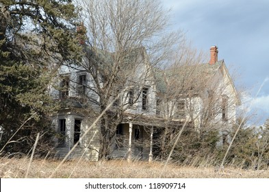 old house in trees