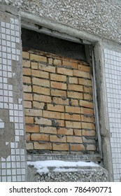 Old house wall