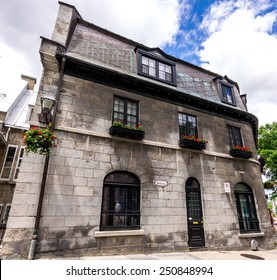 Old House which dates from 1841 in Old Quebec City, Canada.