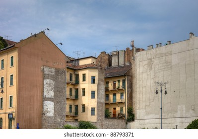Old houses in center of Budapest, Hungary, Europe. - Shutterstock ID 88793371