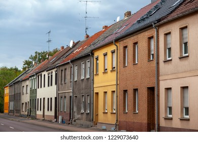 Old houses in Coswig, Sachsen-Anhalt, Germany