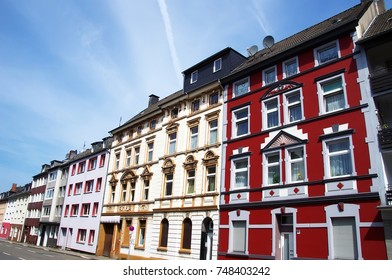 old houses in Essen, Germany