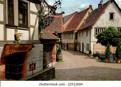 Old houses in Germany, Michelstadt
