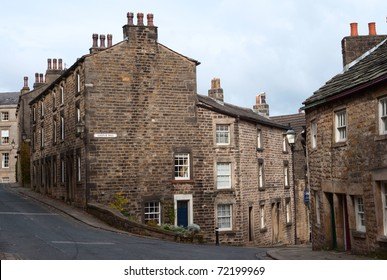 Old houses in Lancaster, UK