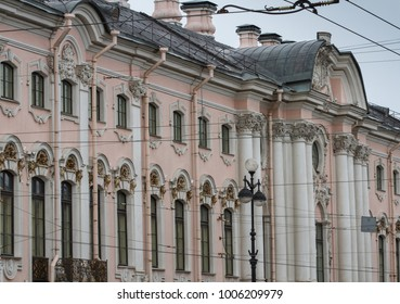 Old Houses in Nevsky Prospect (St Petersburg, Russia)