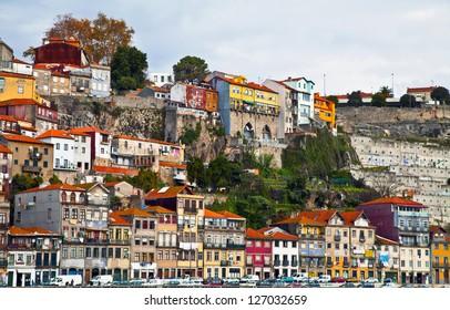 old houses in Porto / Portugal
