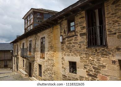 Old houses of Puebla de Sanabria, Castilla y Leon, Spain
