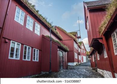 Old houses, Torshavn