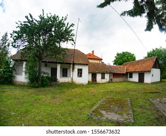 old hungarian house in the city of Berehove (,Beregszász), Transcarpathia, Ukraine
