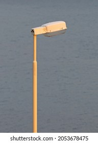 Old Icelandic lamppost, rarely in use in the summer