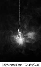 old incandescent lamp, vaping