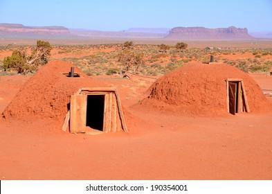 Old indian sauna at Navajo National Monument