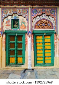 old indian vintage wooden doors & windows handmade