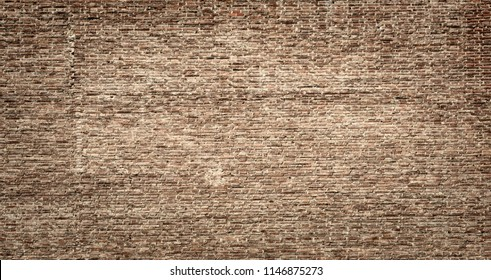 old industrial building brickwall background