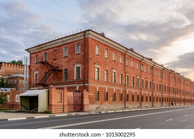 The old industrial building. Russia