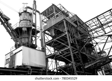 old industrial construction