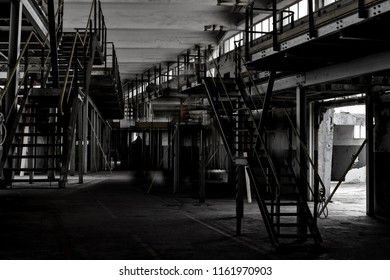 old industrial environment