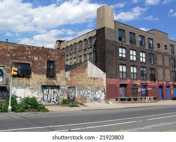 old industry in Brooklyn (NY) - Shutterstock ID 21923803