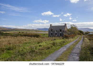 Old Ireland abandoned home