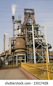 old iron factory detall