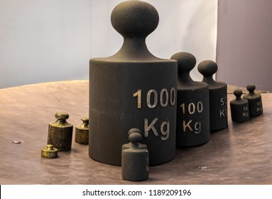 Old iron weight measurement units
